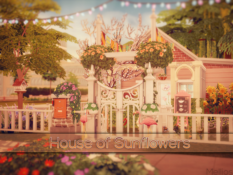 House of Sunflowers by Mellios