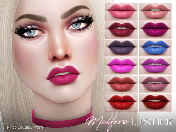 Malfore Lipstick N144 by Pralinesims