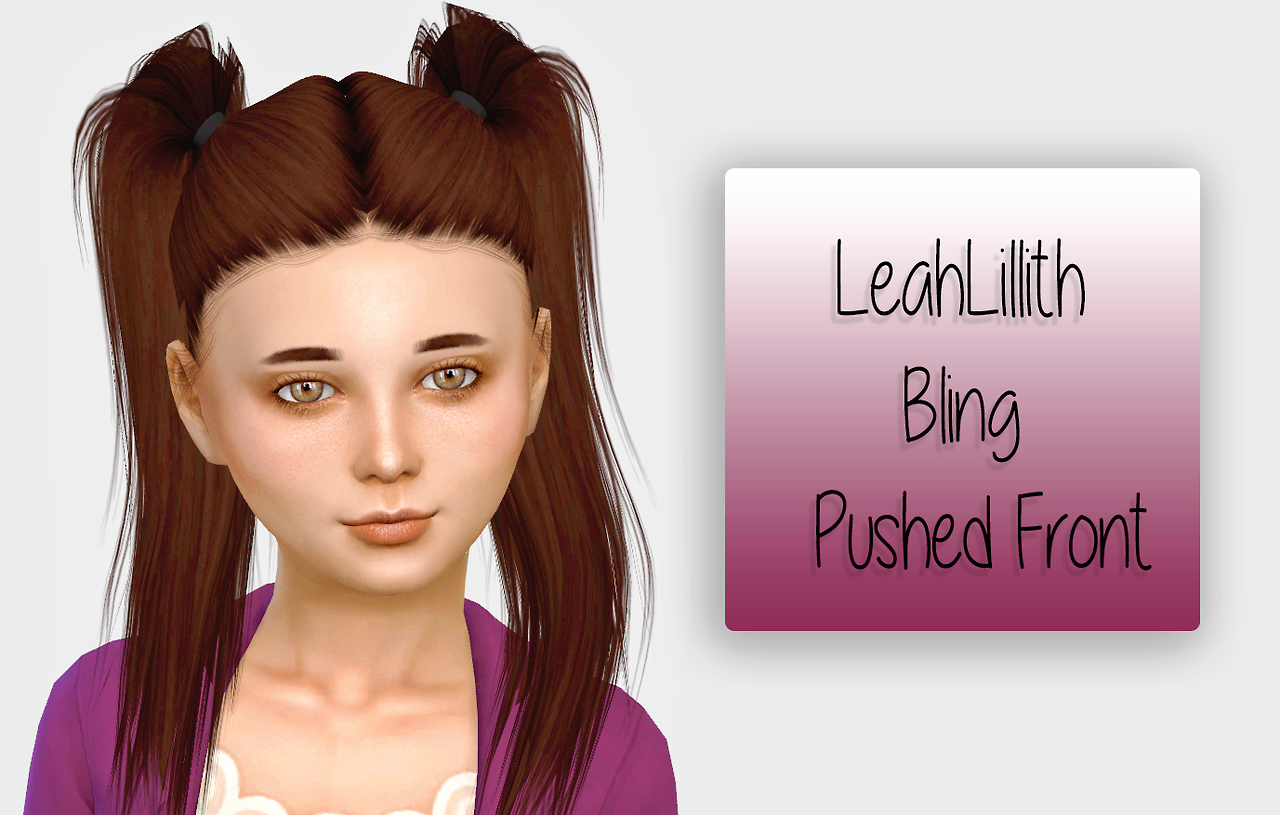 LeahLillith Bling - Pushed Front by Fabienne