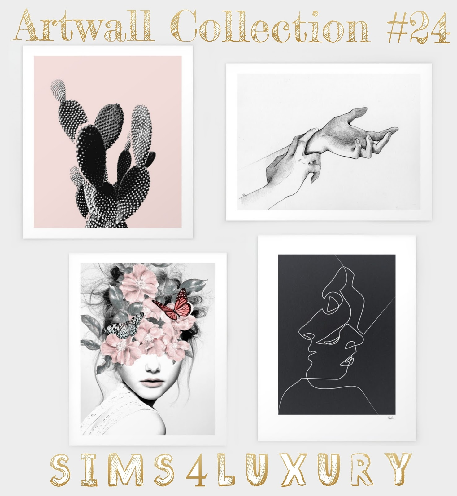 Artwall Collection #24 by Sims4luxury