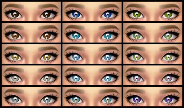 Pearl Eyes - Contacts by LullabySims