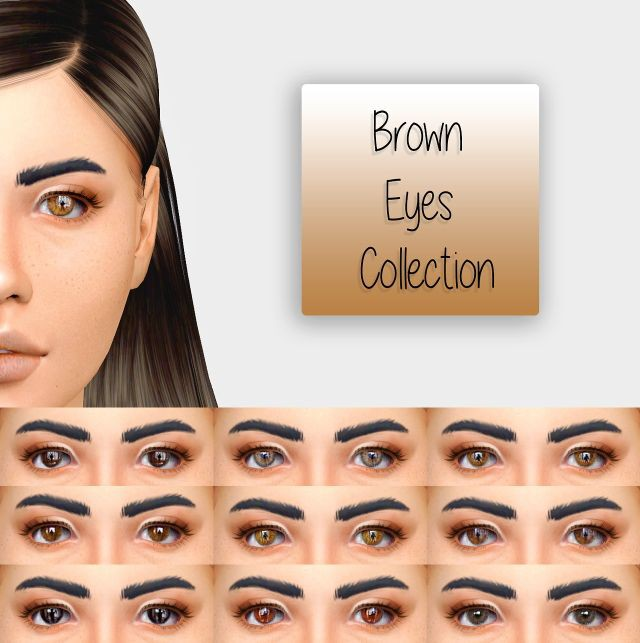 The Bown Eyes Collection - 2T4 by simiracle