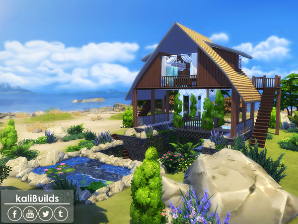Paradise Hut by kaly_t07