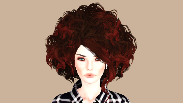 BlahberryPancake Koshosho Hair Converted from Samurai Warriors by hff-sims