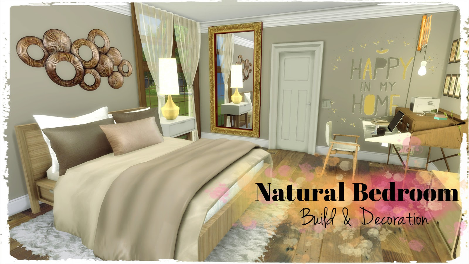 Natural Bedroom by Dinha Gamer