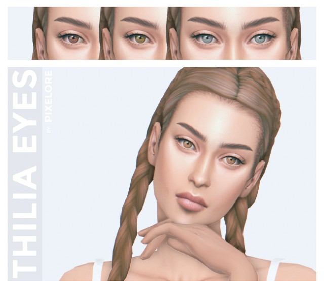 thilia eyes by Pixelore
