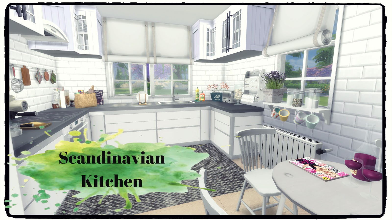 Scandinavian Kitchen by Dinha Gamer