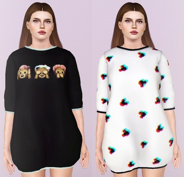 Sweater Dresses от Descargassims