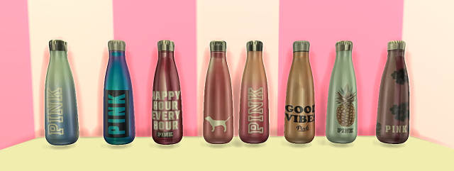 TS3 Metal Water Bottles by Yourdorkbrains
