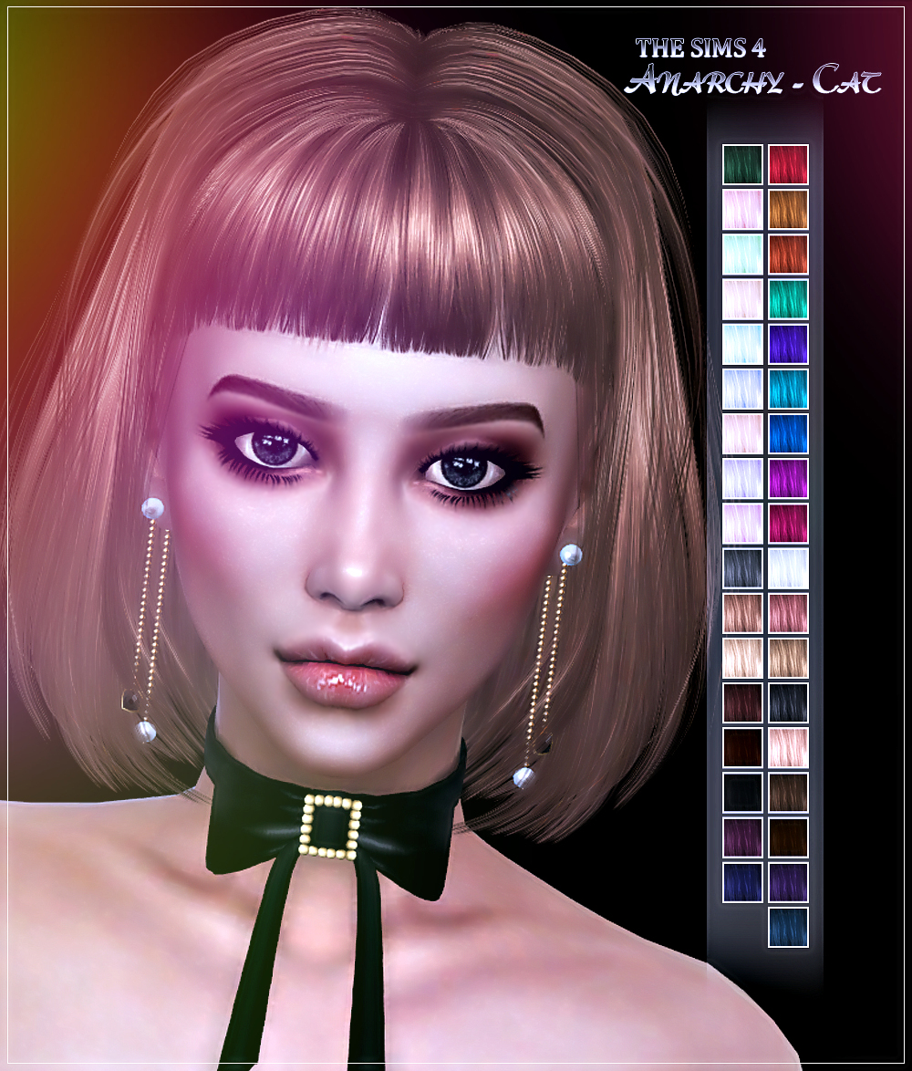 LeahLillith Night Vision Hair by Anarchy-Cat