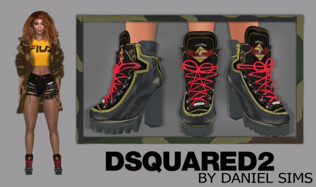 Beyonce in Dsquared2 by Daniel-Sims