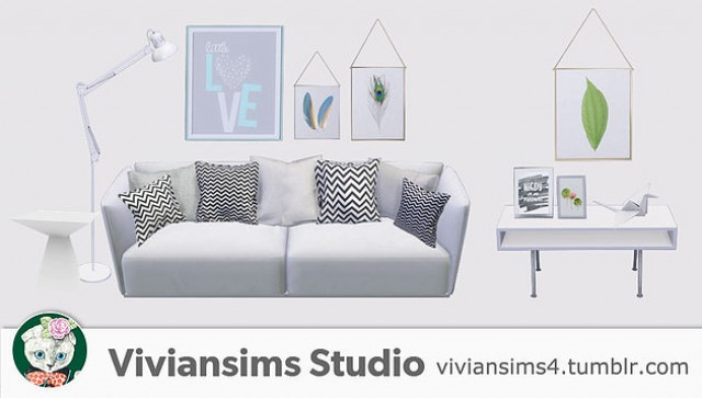 Set02 Nordic Style 1 by Viviansims