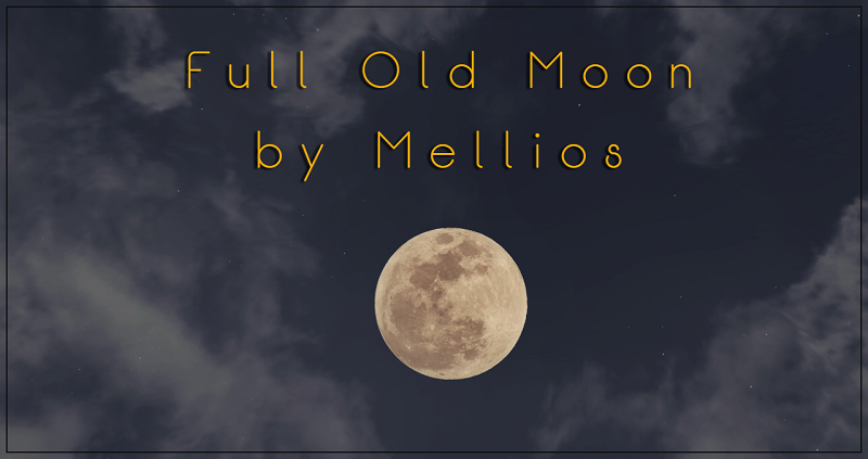 Full Old Moon by Mellios