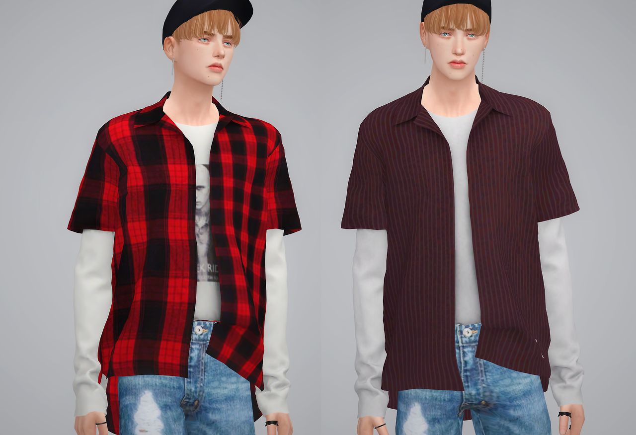Layered Shirts by by2ol