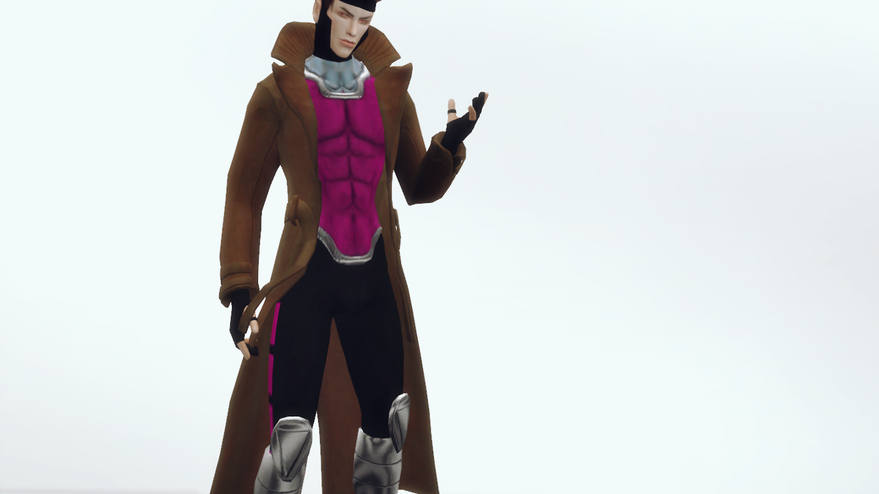 Character - Gambit from Marvel Comics by plazasims