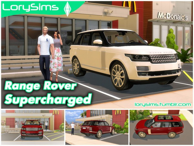 Range Rover Supercharged by LorySims