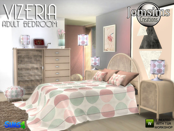 Vizeria adult bedroom by jomsims