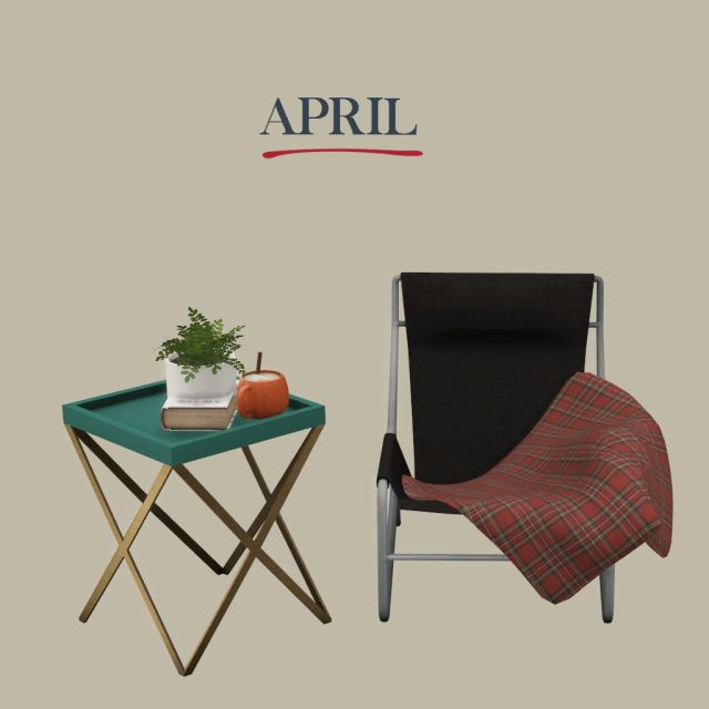 April set by Leo-Sims