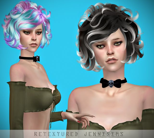 Newsea Masquerade Hair retexture by JenniSims