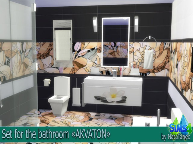Set for the bathroom AKVATON by natatanec