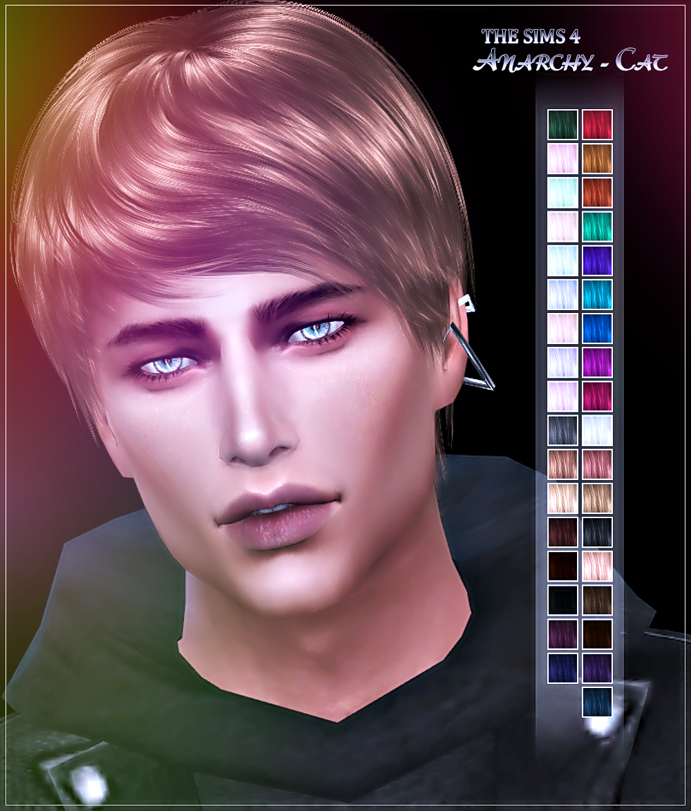 Hair 83 Male by Anarchy-Cat