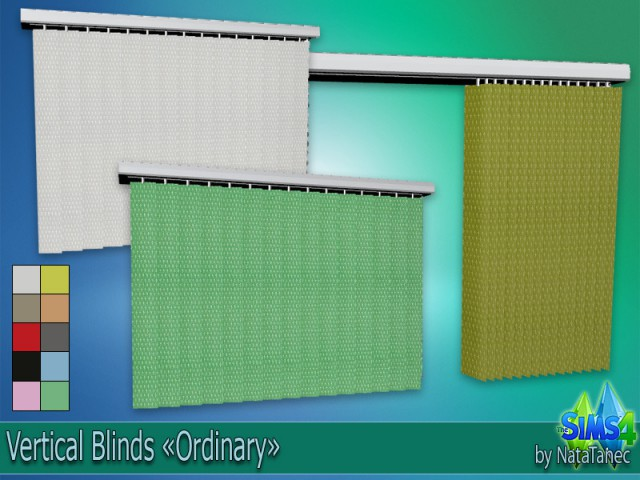 Vertical Blinds Ordinary by Natatanec