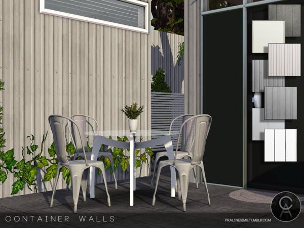 Container Walls by Pralinesims