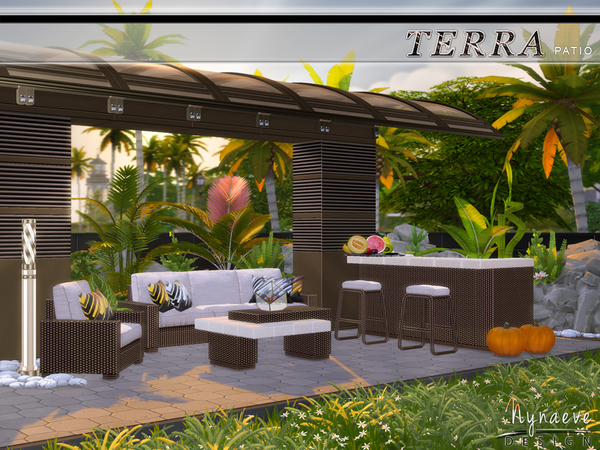 Terra Patio by NynaeveDesign