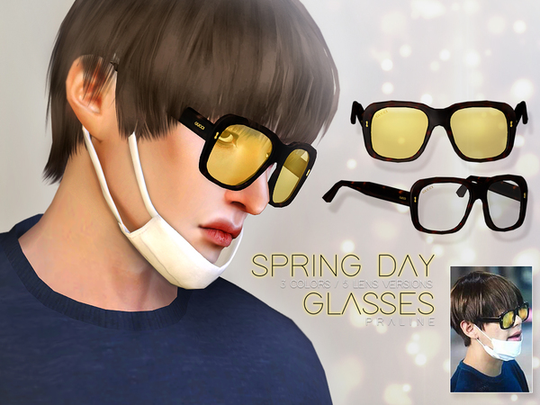 Spring Day Glasses by Pralinesims