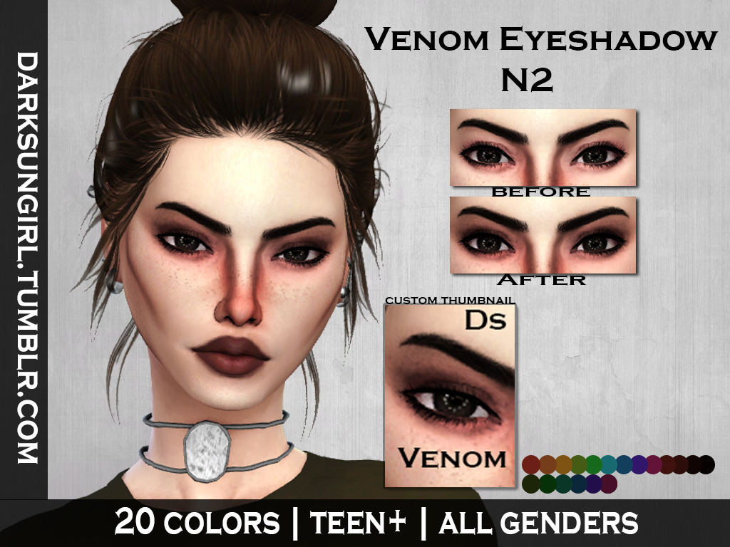 VENOM EYESHADOW N2 by darksungirl