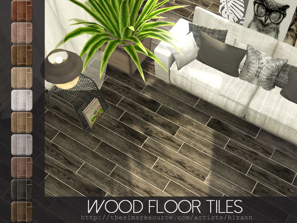 Wood Floor Tiles by Rirann