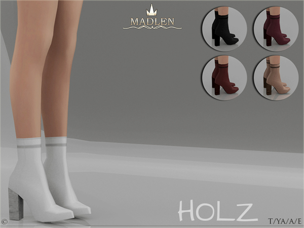 Madlen Holz Boots by MJ95