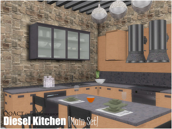 Diesel Kitchen [Main Set] by QoAct