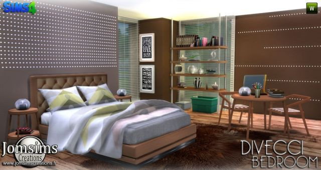 Divecci bedroom by Jomsims