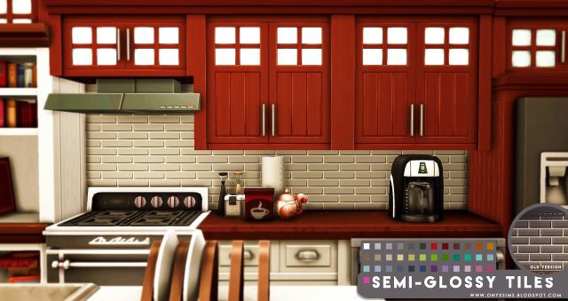 Semi Glossy Tiles by onyxsims