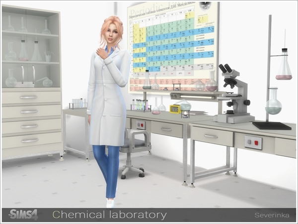 Chemical laboratory by Severinka