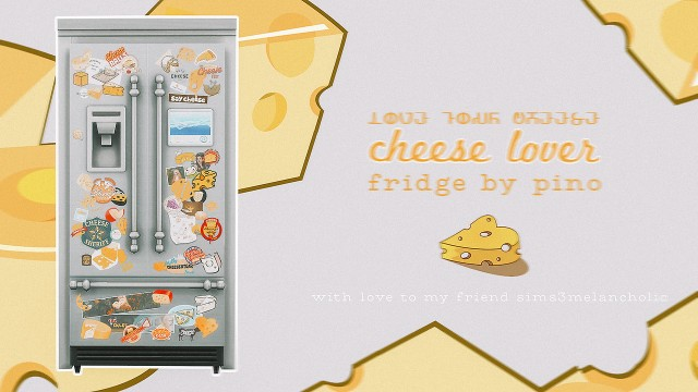 CHEESELOVER FRIDGE by pinofurude