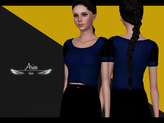 Arisa  Simple Top by Nisuki