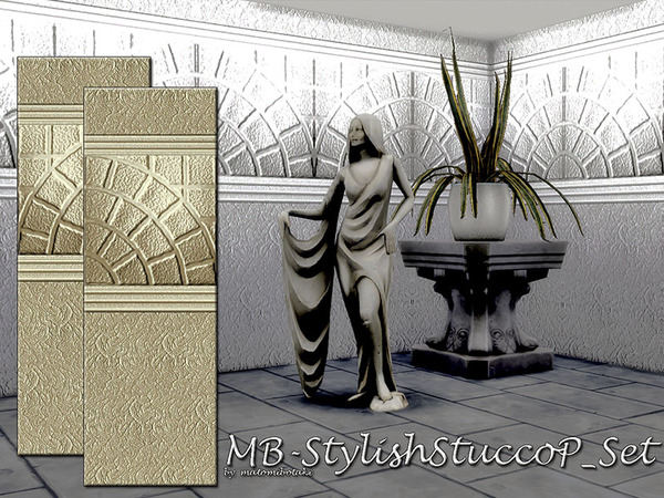 MB-StylishStuccoP_Set by matomibotaki