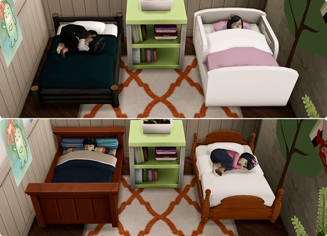 Toddler Bed N01 Set by Qvoix