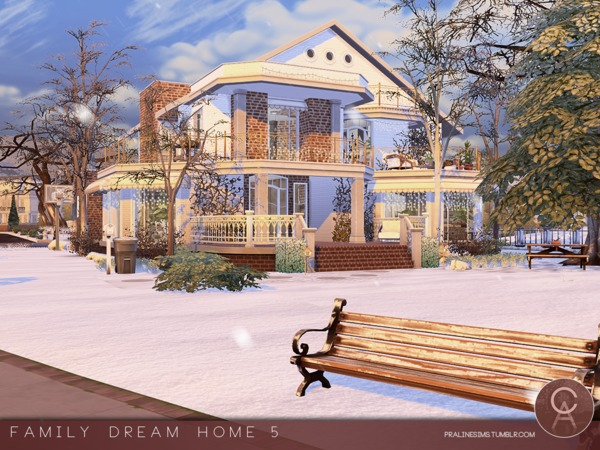 Family Dream Home 5 by Pralinesims