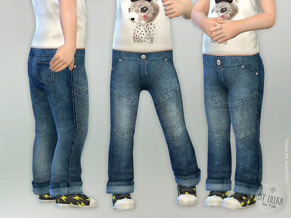 Toddler Jeans P01 by lillka