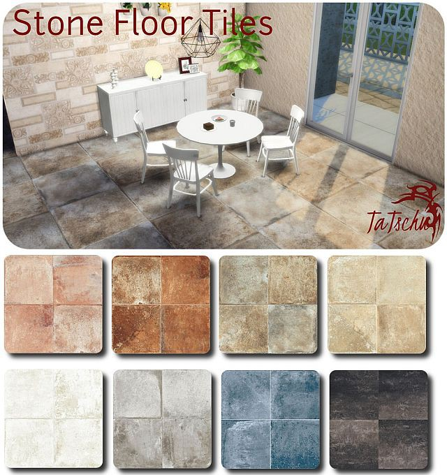 Stone Floor Tiles by TaTschu