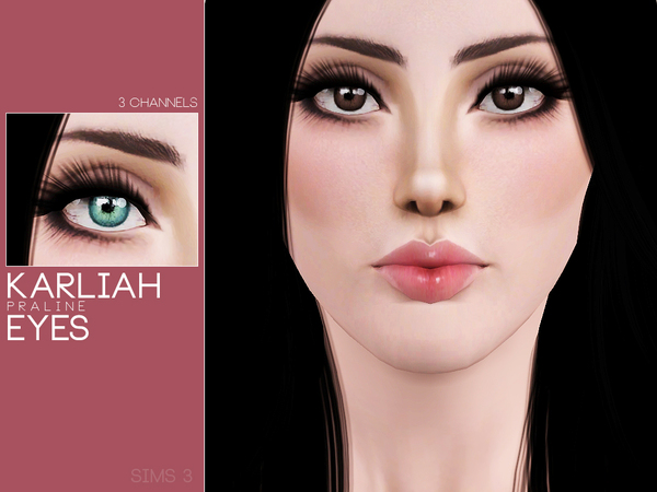 Karliah Eyes by Pralinesims