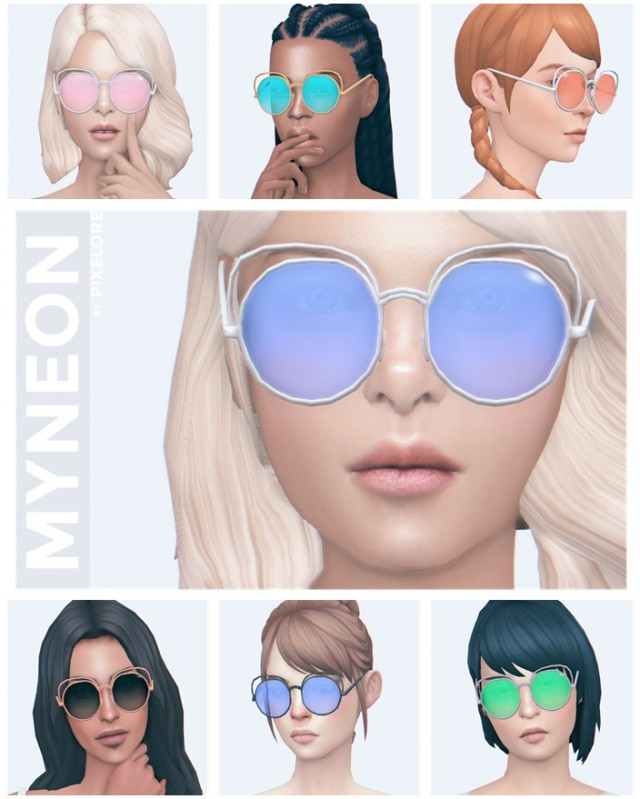 myneon glasses by Pixelore