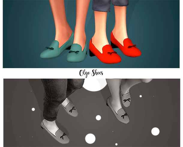 Olga Shoes by jao