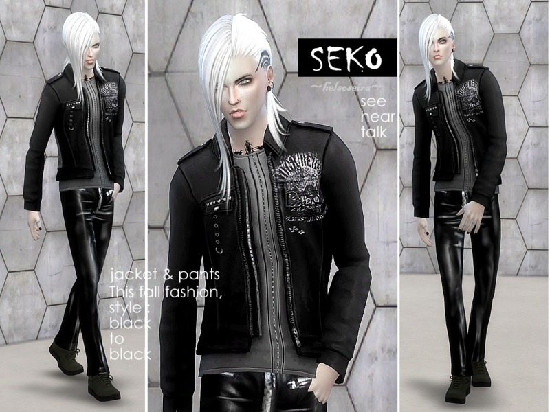 SEKO - Jacket and Pants for male - Get Together needed by Helsoseira