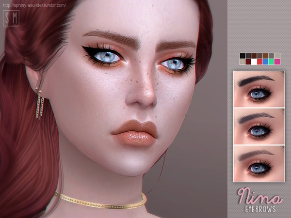 [ Nina ] - Eyebrows by Screaming Mustard