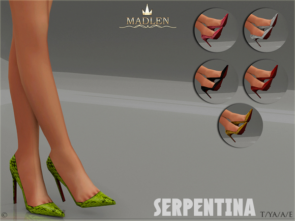 Madlen Serpentina Shoes by MJ95