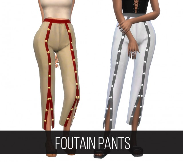 FOUTAIN PANTS by fifthscreations
